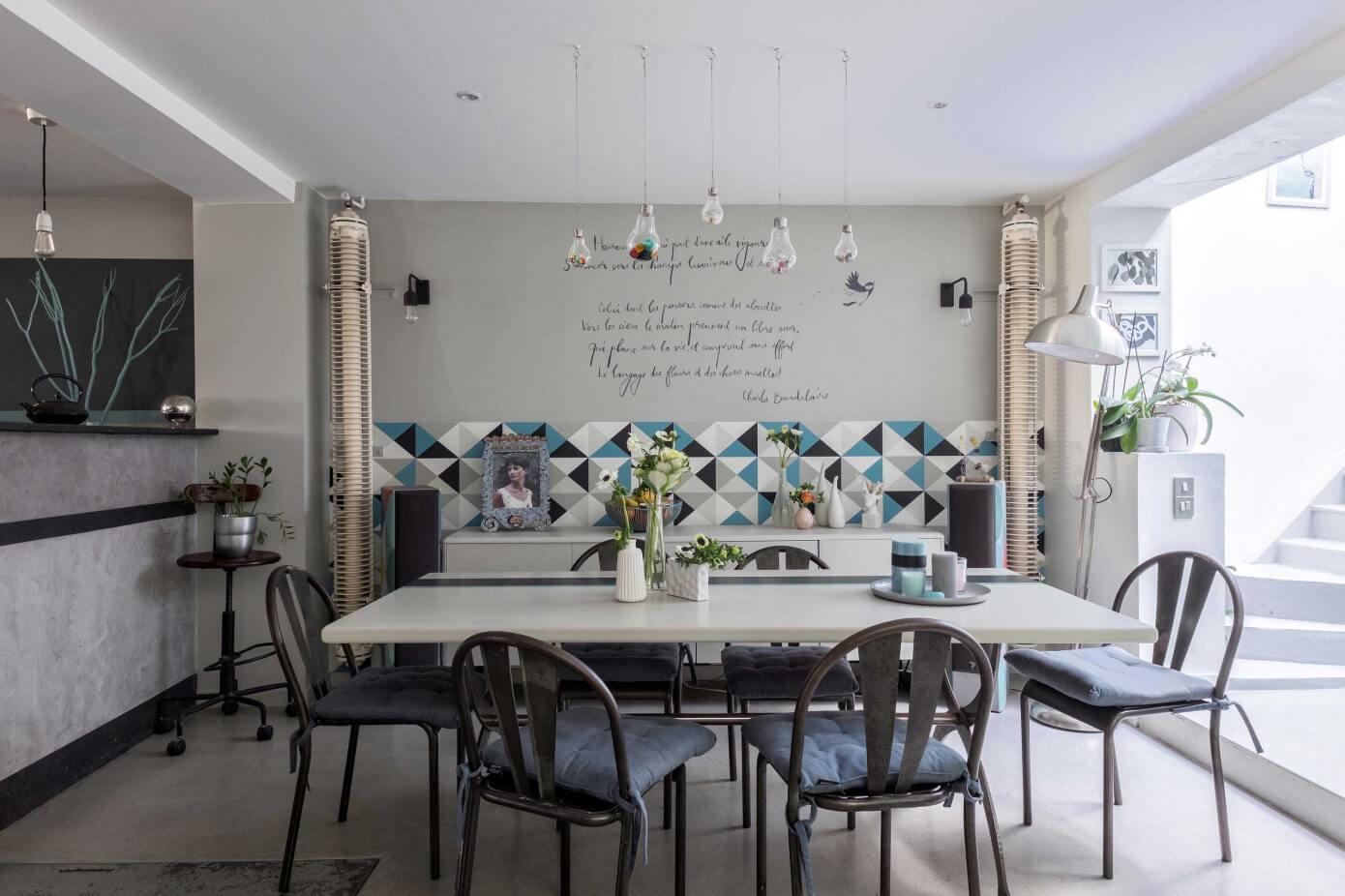 003 loft paris murs merveilles homeadore. Black Bedroom Furniture Sets. Home Design Ideas