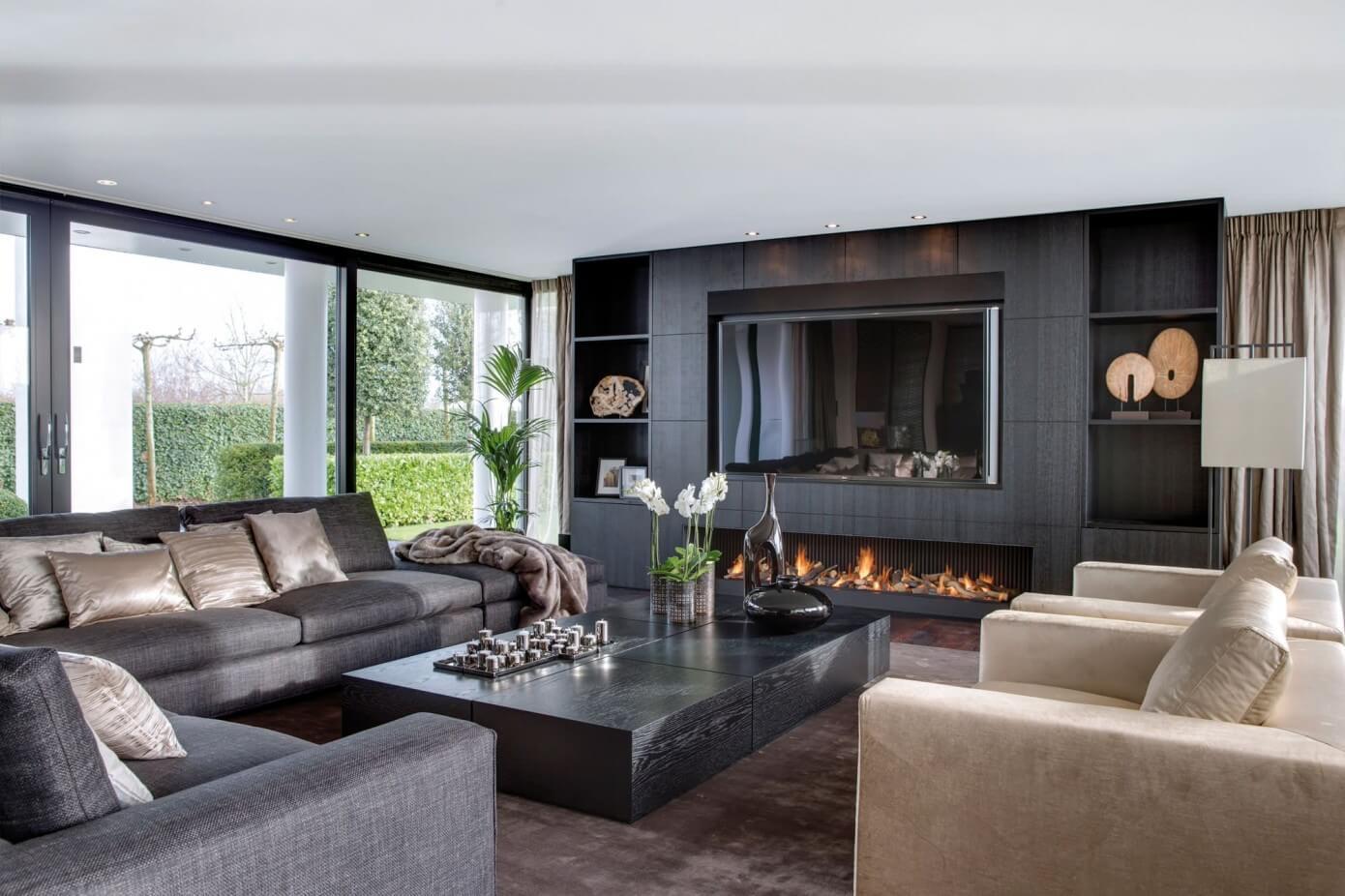 006 villa amsterdam choc studio homeadore for Villa de luxe moderne interieur