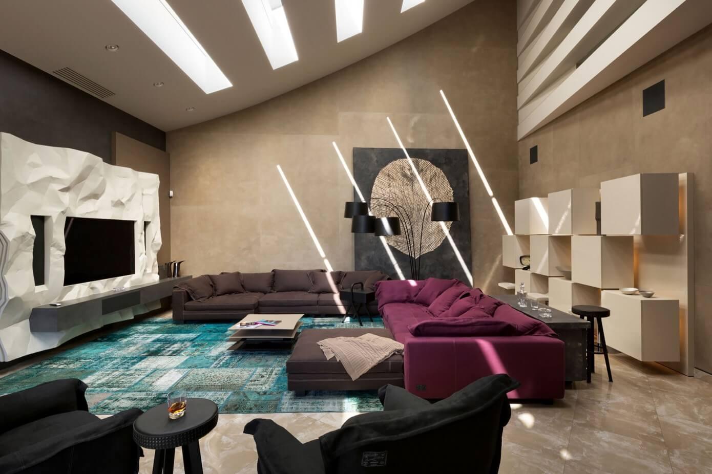 Contemporary House in Kharkov by SBM Studio