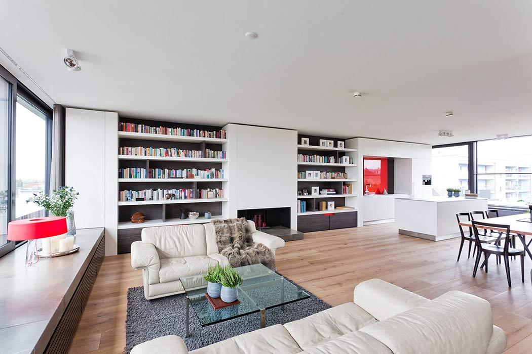 Penthouse in Berlin by HANSENWINKLER