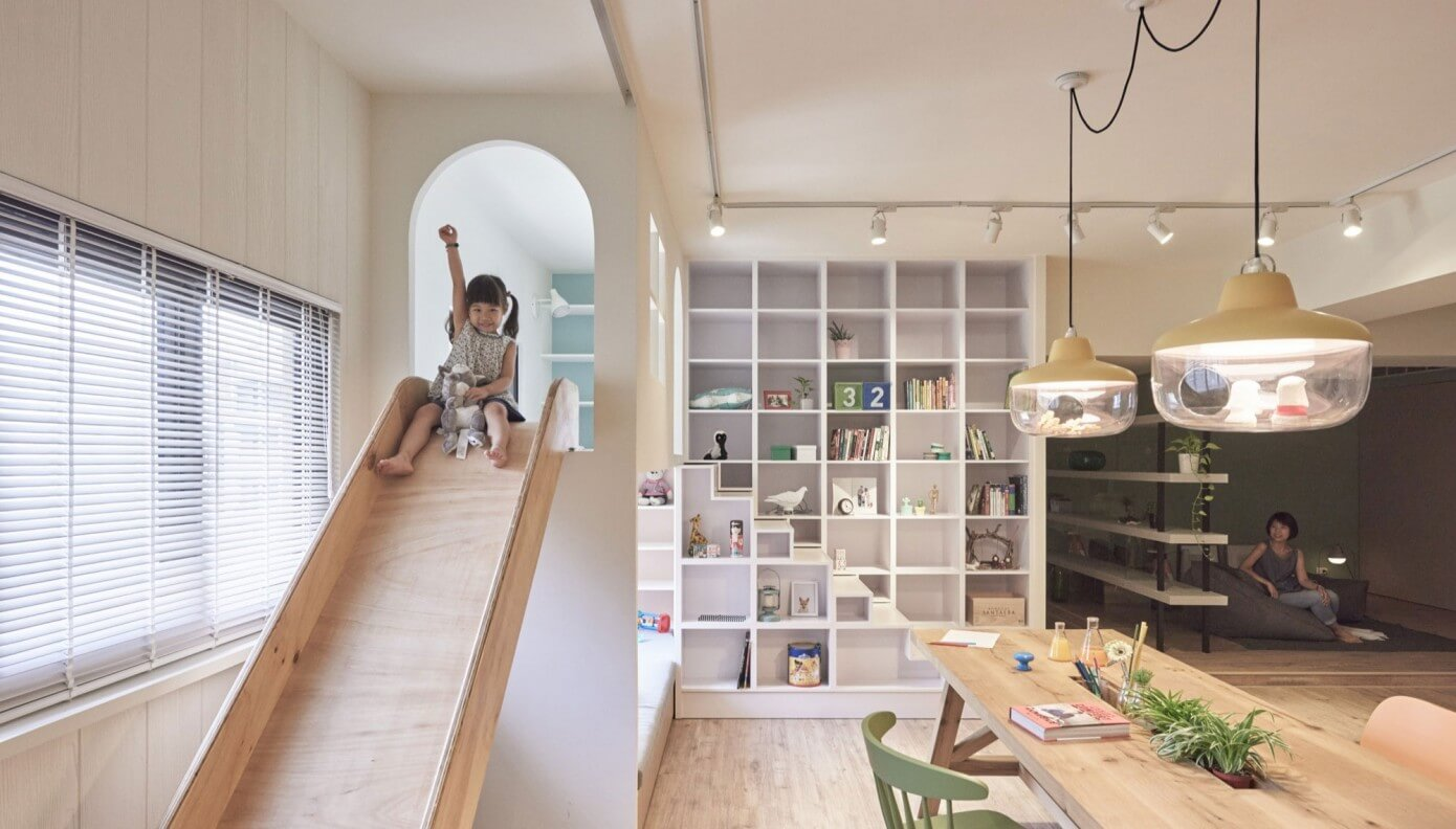 Home in Kaohsiung City by HAO Design