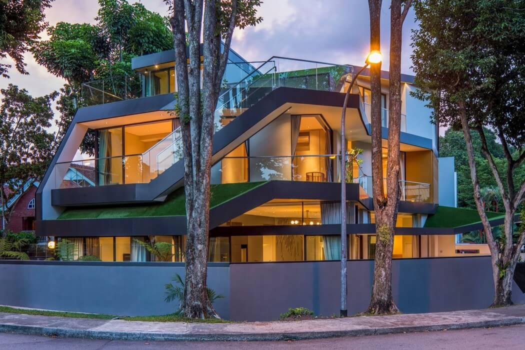 Trevose House by A D LAB