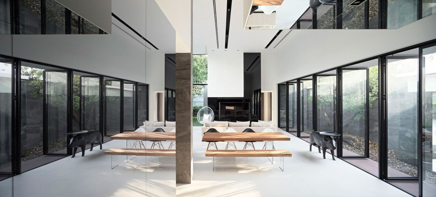 House in Bangkok by Ayutt and Associates