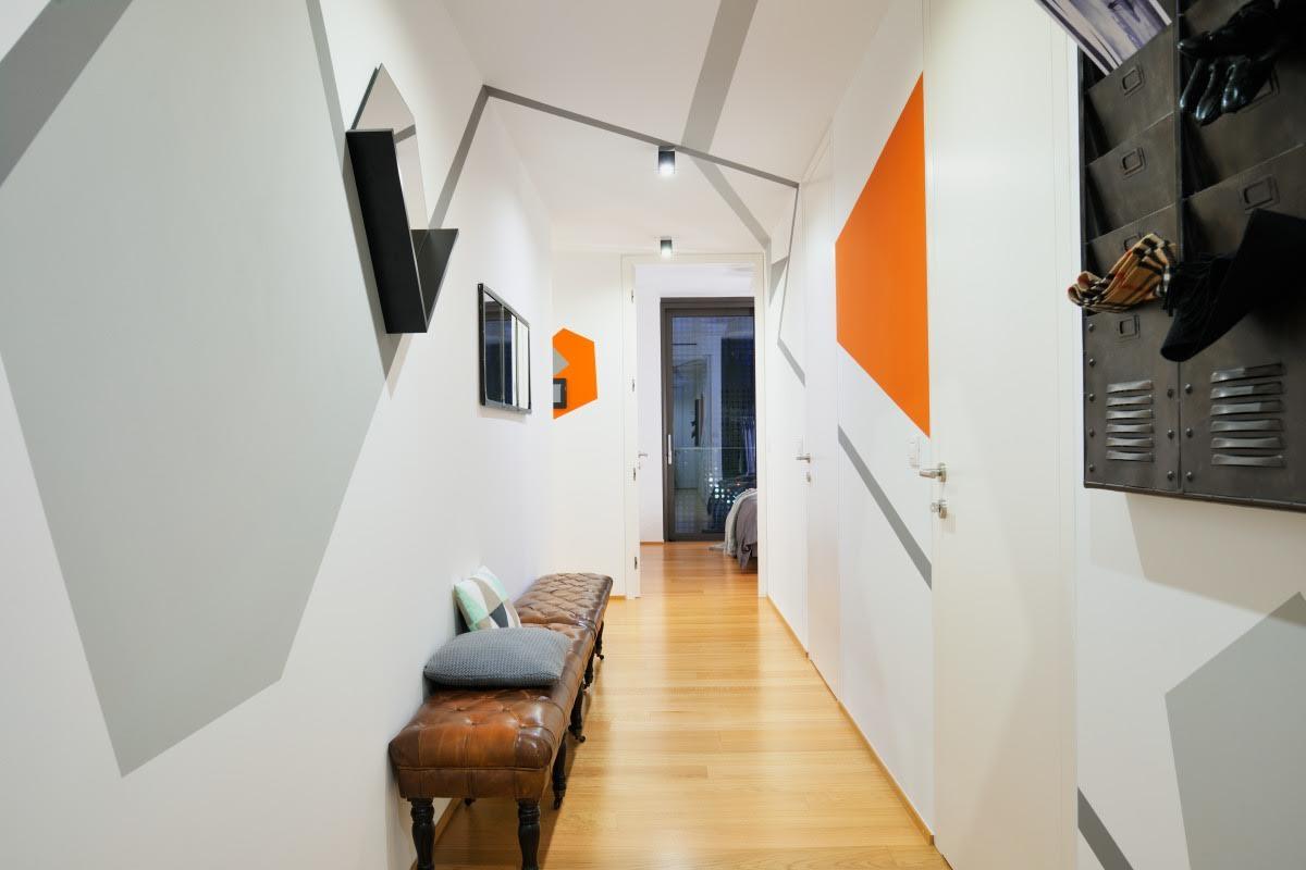 Apartment in Ljubljana by GAO Architects