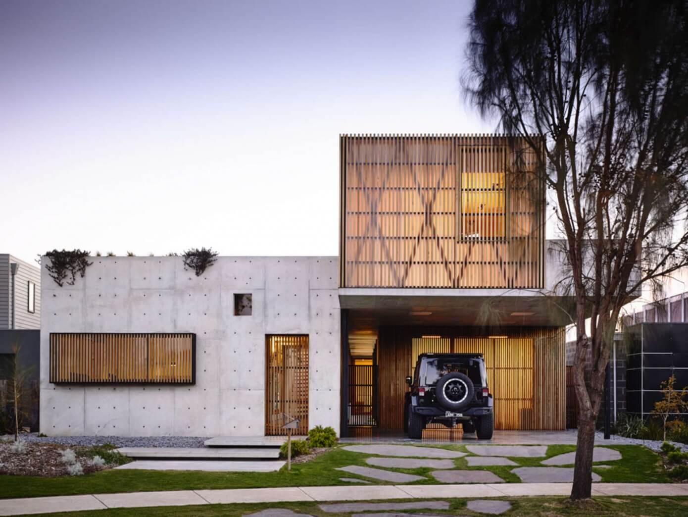 Beautiful Concrete Buildings : Torquay concrete house by auhaus architecture « homeadore