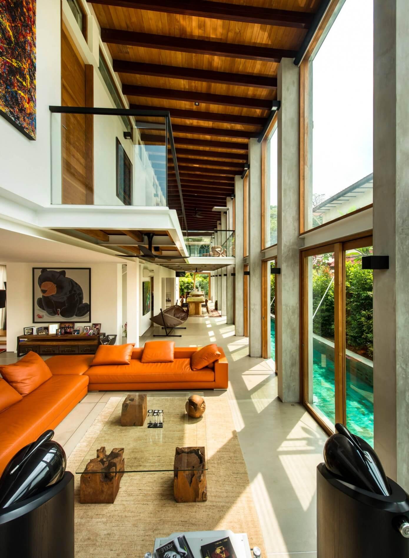 005 Bungalow Singapore Visual Text Architect Homeadore