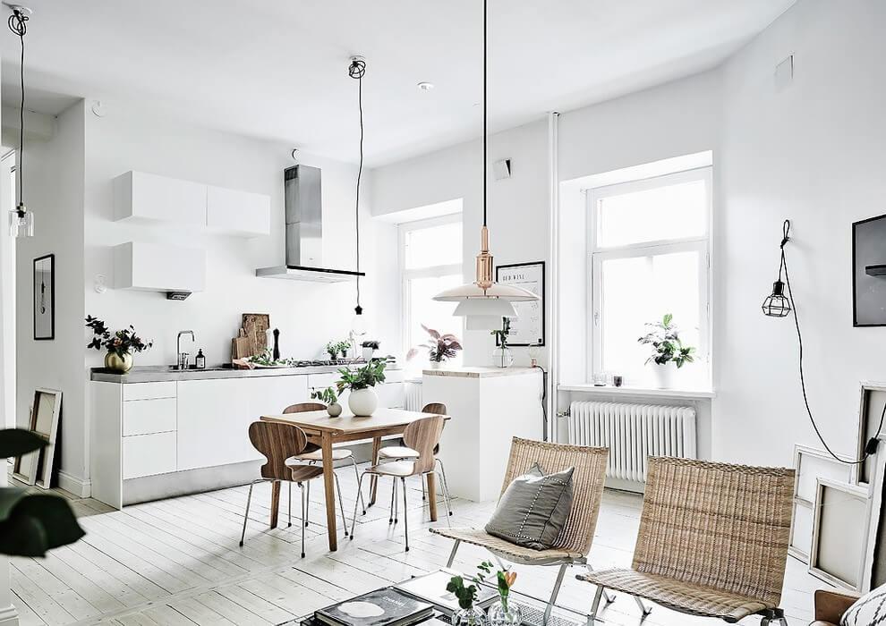 Apartment in Göteborg by Malin Simson Interior