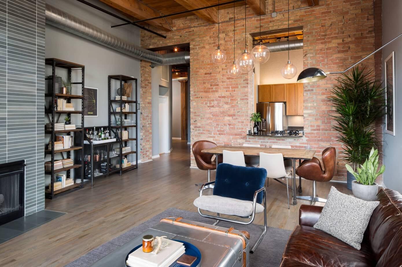 River North Loft by Haven Design Studio   HomeAdore