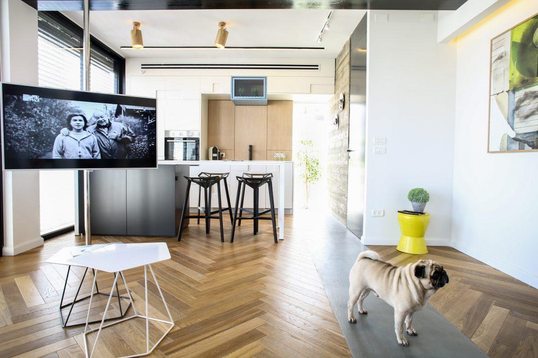 TLV Zechariah Apartment by Dori Redlich
