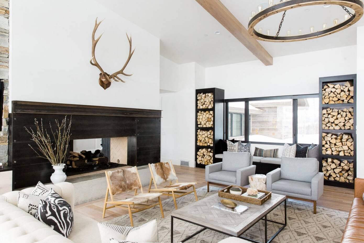 Modern Mountain Home By Studio McGee HomeAdore - Mountain home interior design