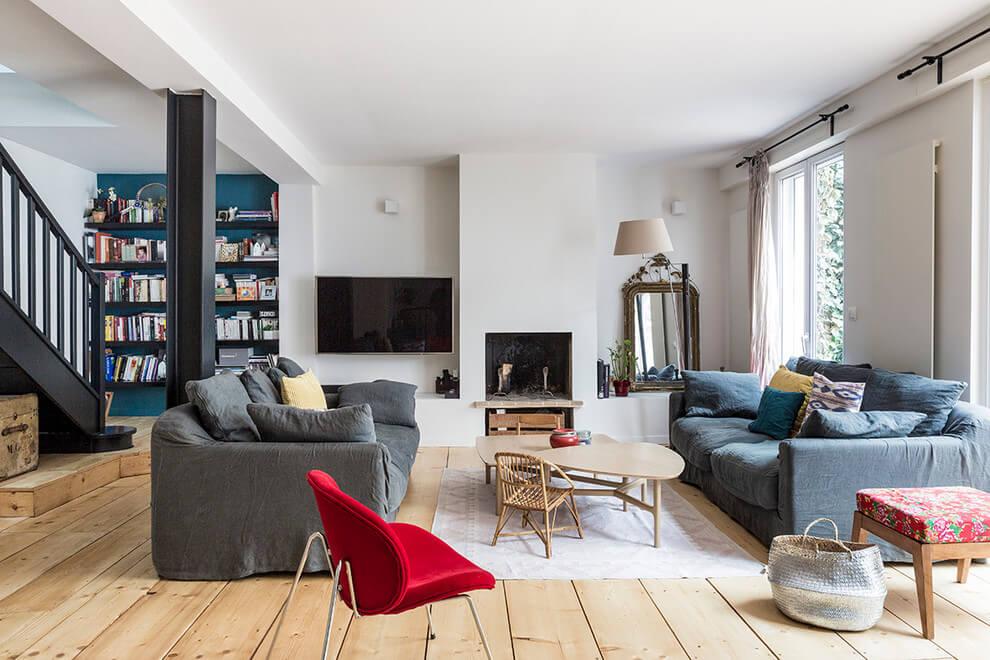 Residence in Boulogne-Billancourt by Olivier Stadler