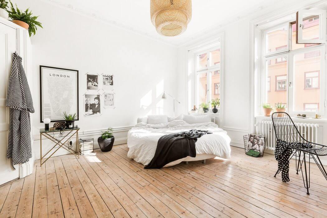 Apartment in Stockholm by Myrica Bergqvist Inredare