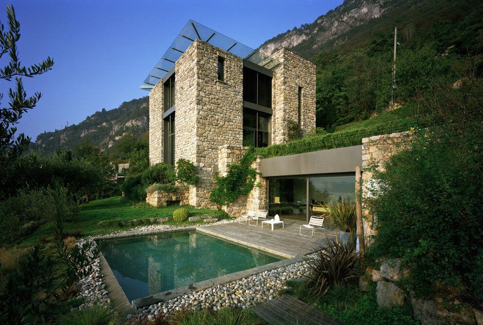casa di pietra by arturo montanelli architecture