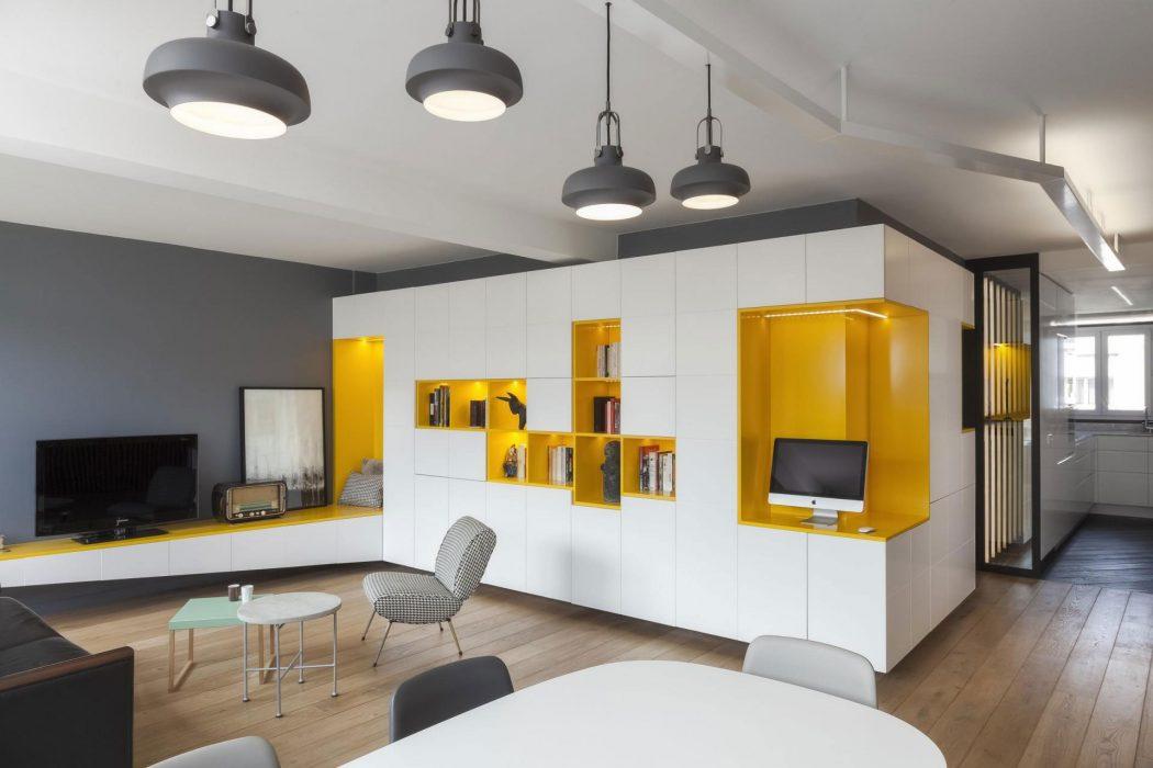 Residence in Paris by Agence Glenn Medioni