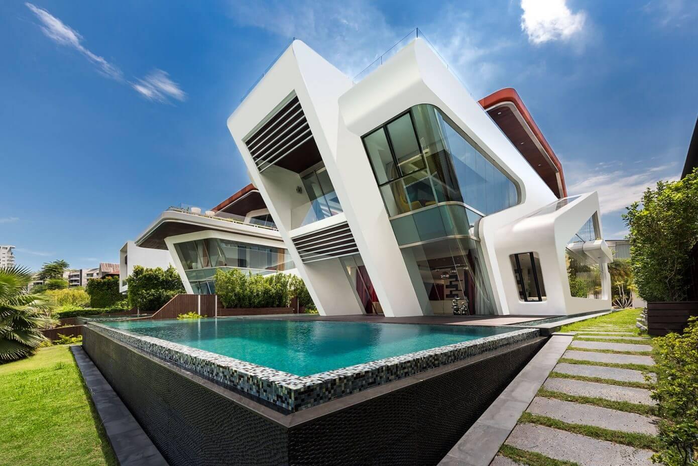 Contemporary House by Mercurio Design Lab « HomeAdore
