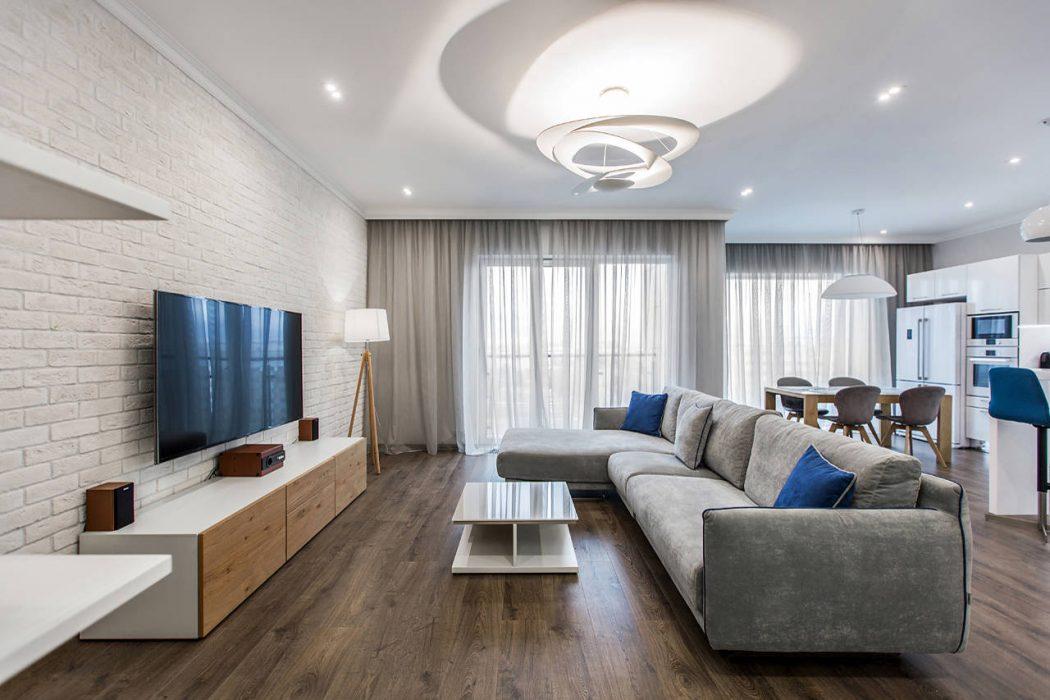 Dubrovskaya Sloboda Apartment by Boris Bočkarev