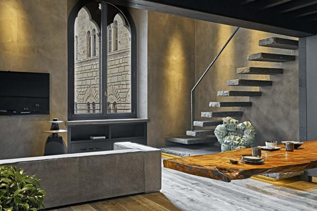 Apartment in Florence by Filippo Cei