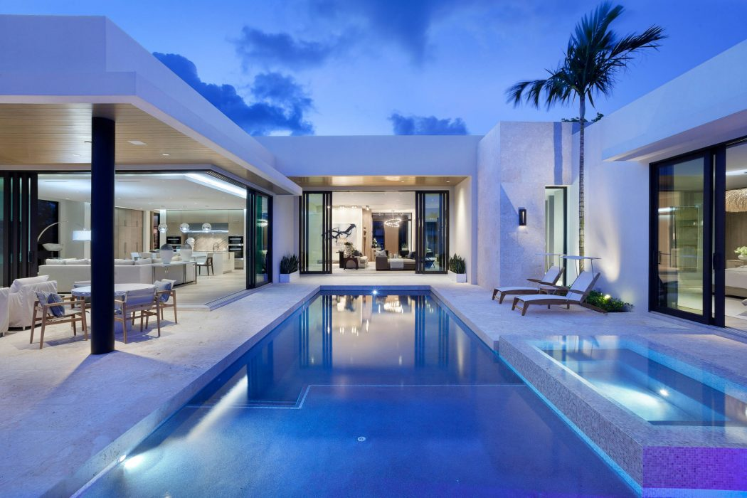 Home in Boca Raton by Brenner Architecture Group