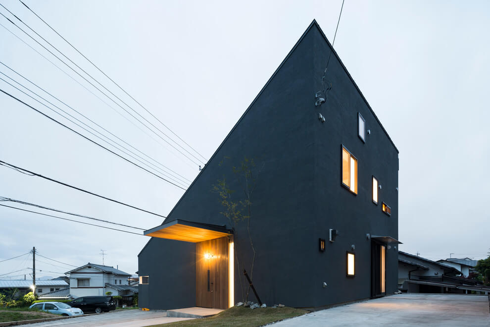Minimalist house by tukurito architects architecture for Minimalist house blog