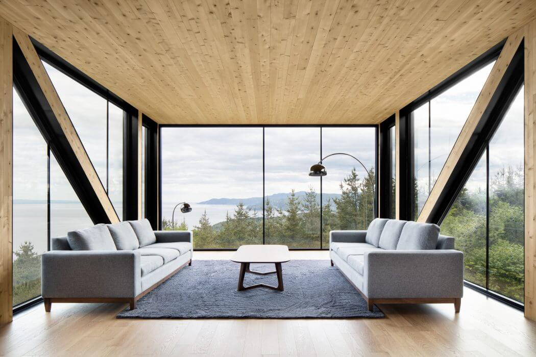Blanche Chalet by ACDF Architecture