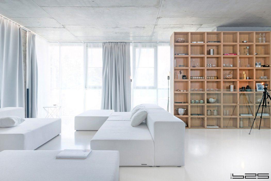 Minimalist Apartment by ARCH.625