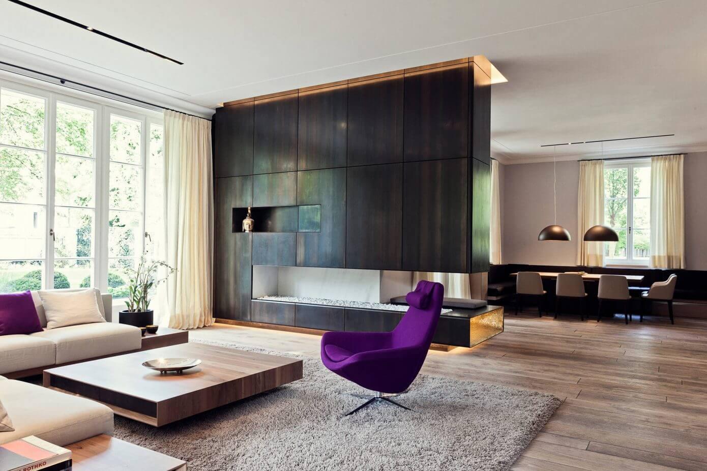 villa in munich by michale neumayr design homeadore. Black Bedroom Furniture Sets. Home Design Ideas