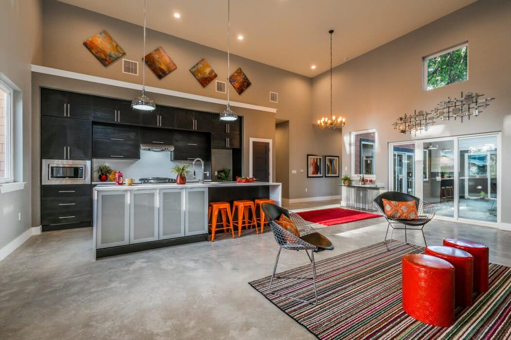 Eclectic House in Austin by AHS Design Group