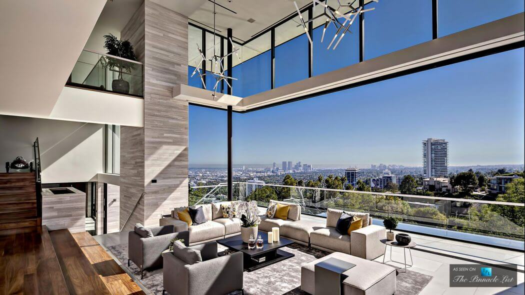 Luxury house in los angeles decoration for Home designers los angeles
