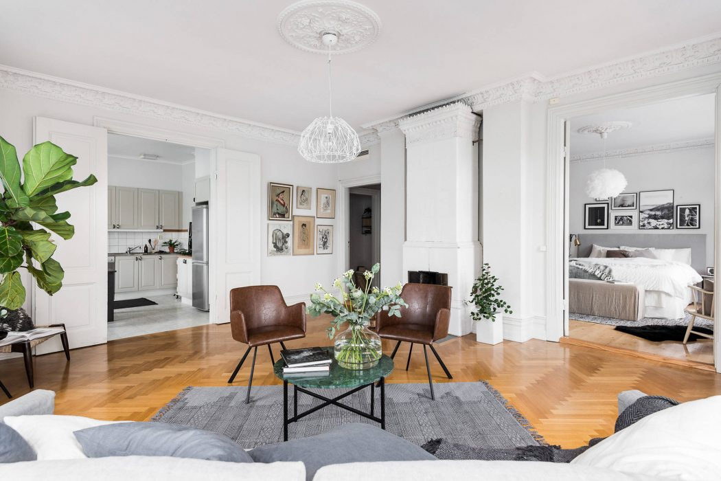 Apartment in Gothenburg by INTRO INRED
