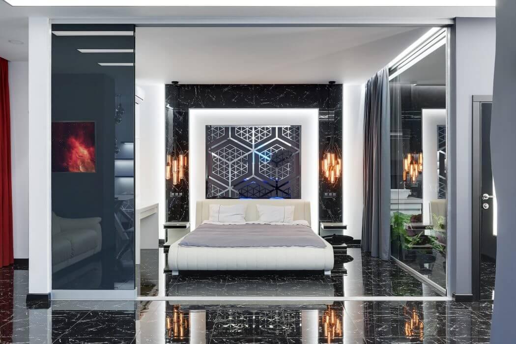Athlete's Apartment by Mariya Dolgopolova