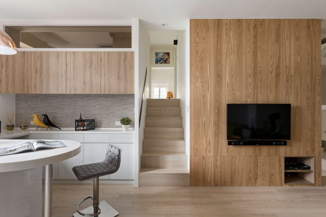Apartment in Taiwan by Alfonso Ideas