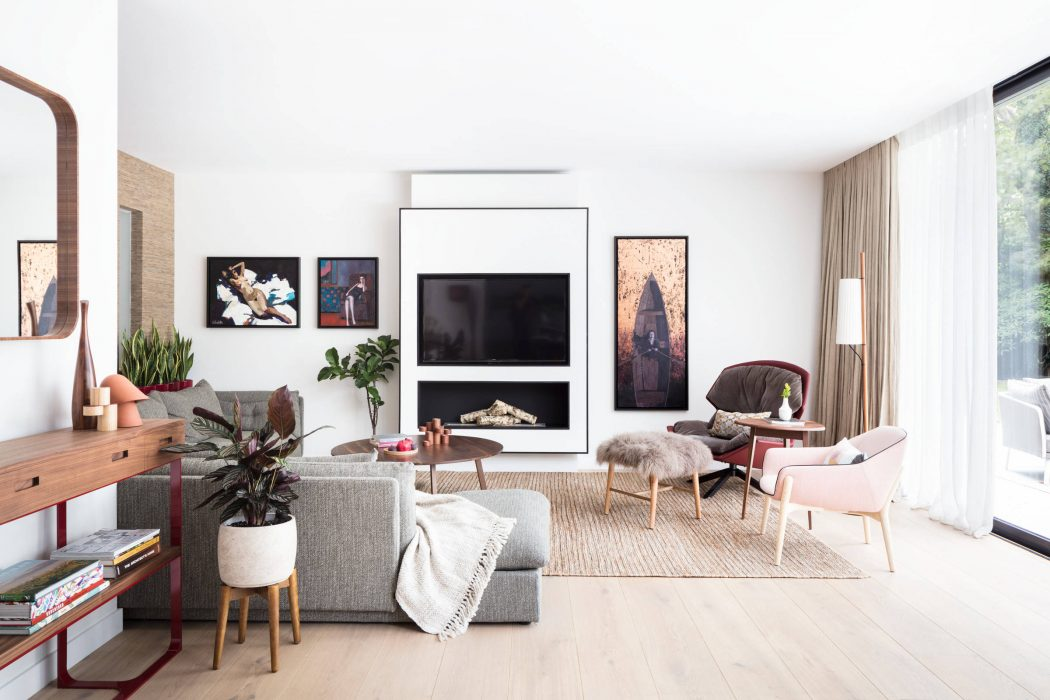 Home in Hampstead by Black and Milk