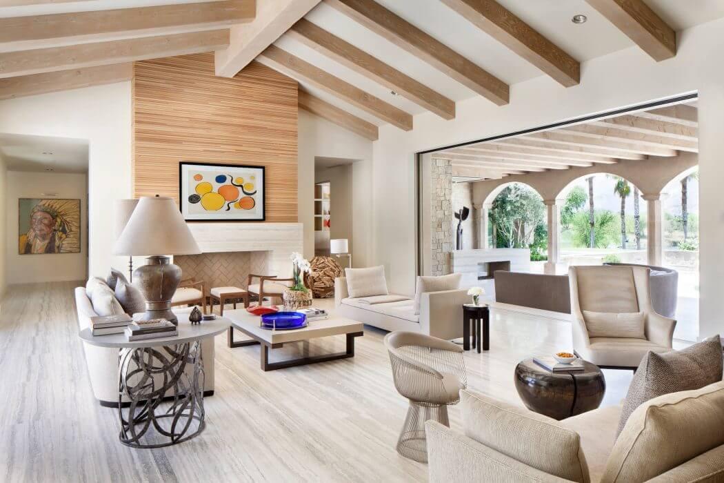 Home in Palm Springs by Certified Luxury Builders