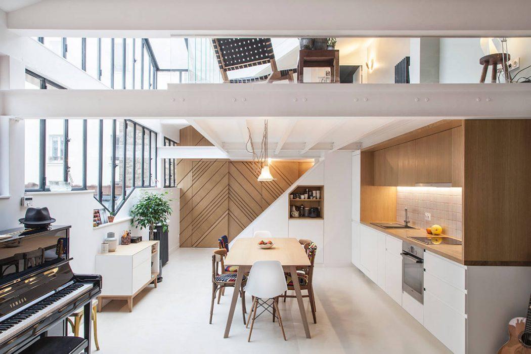 Loft in Paris by Batiik Studio