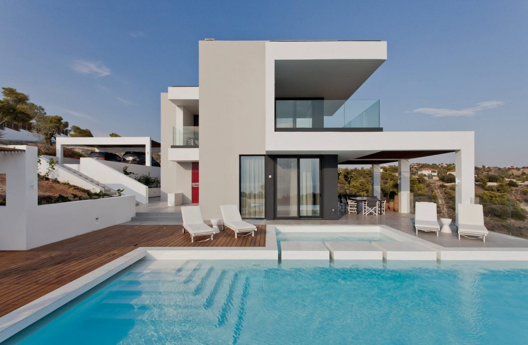 Porto Heli Villa by Stokas Construction