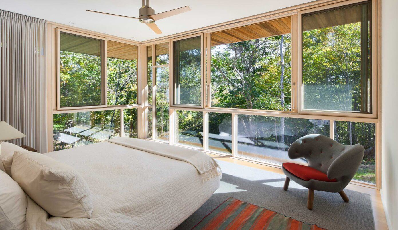 Woodland Contemporary by Holmes Hole Builders
