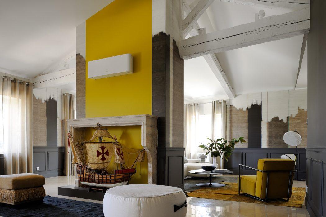 Ch Teau Ouest Lyonnais By Claude Cartier Studio Decoration