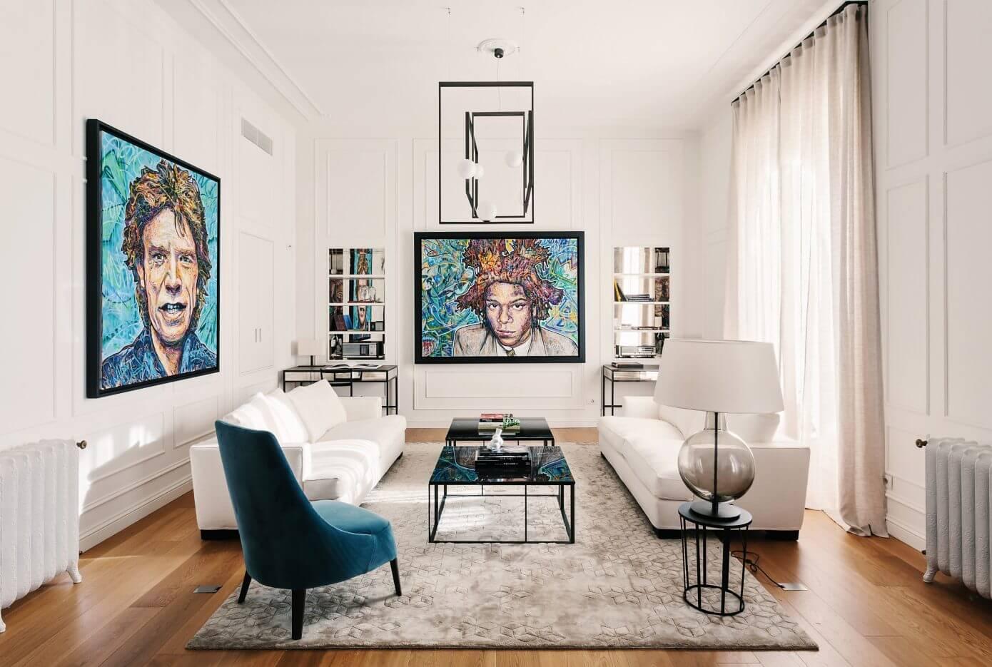 Apartment p by nomade architettura interior design homeadore for Arredamento della casa con la a