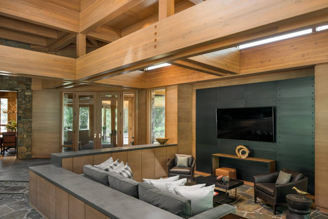 House in Ketchum by Lloyd Construction