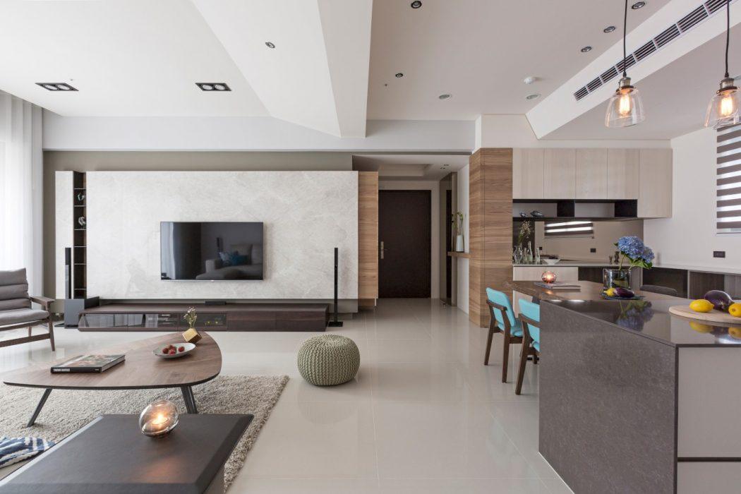 Elegant Apartment by HOZO_interior_design