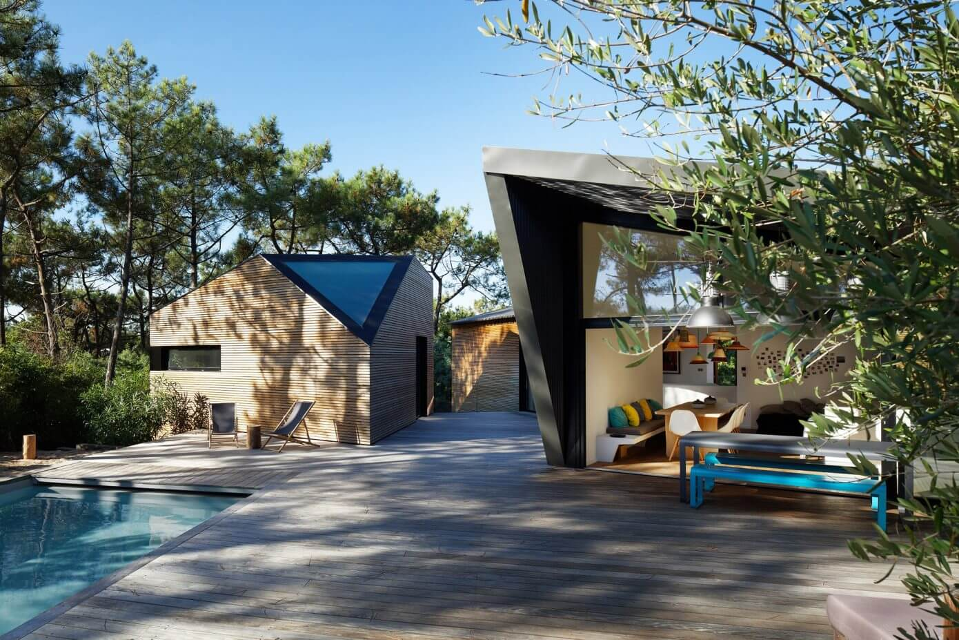 Holiday House in Cap Ferret by Atelier Du Pont