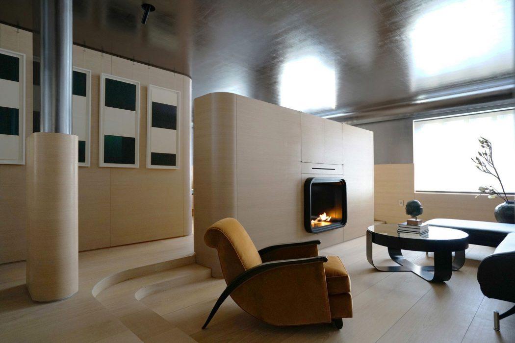 Inspiring Apartment by Ghiora Aharoni Design Studio