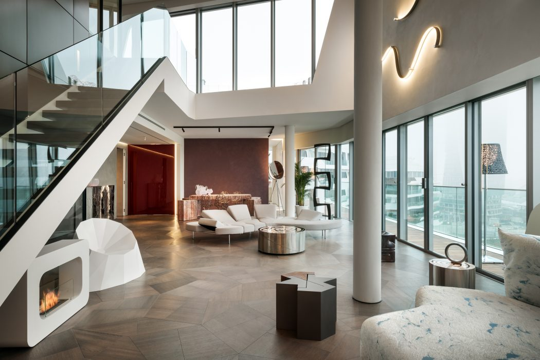 Penthouse One-11 by Milano Contract District