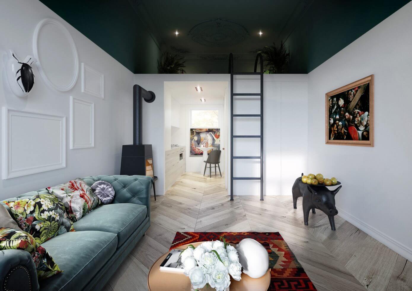 Studio apartment by homeadore for Studio interior design brescia