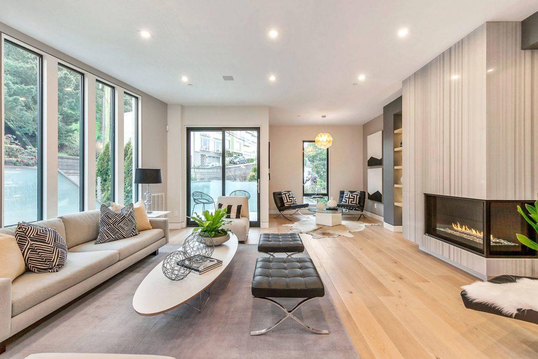 House in San Francisco by Vaso Peritos Interior Design