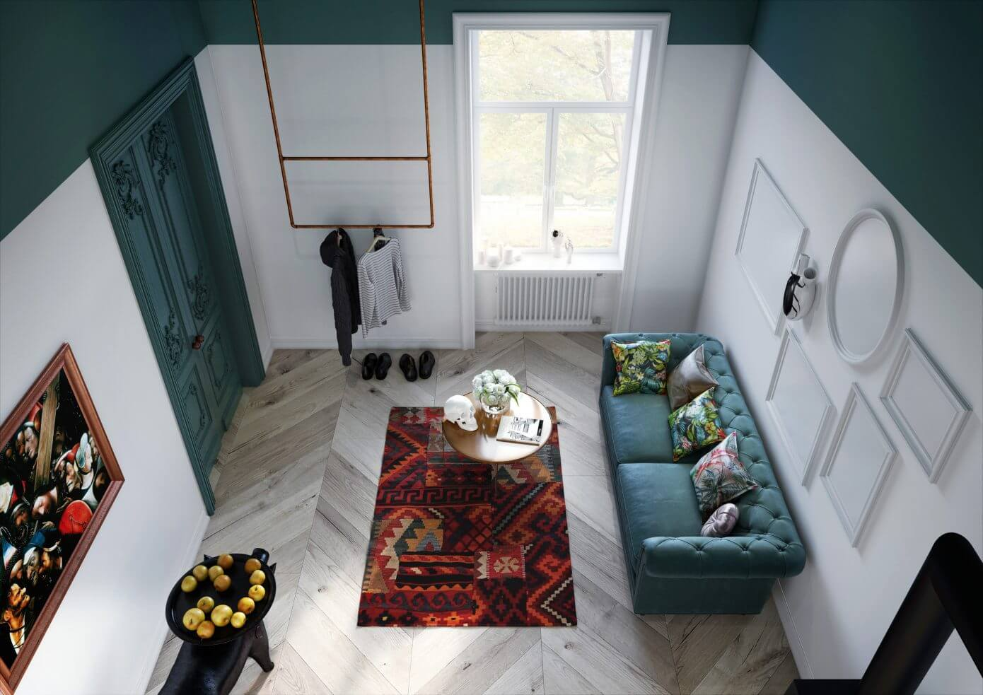 Studio Apartment by Interiors.homeandwood