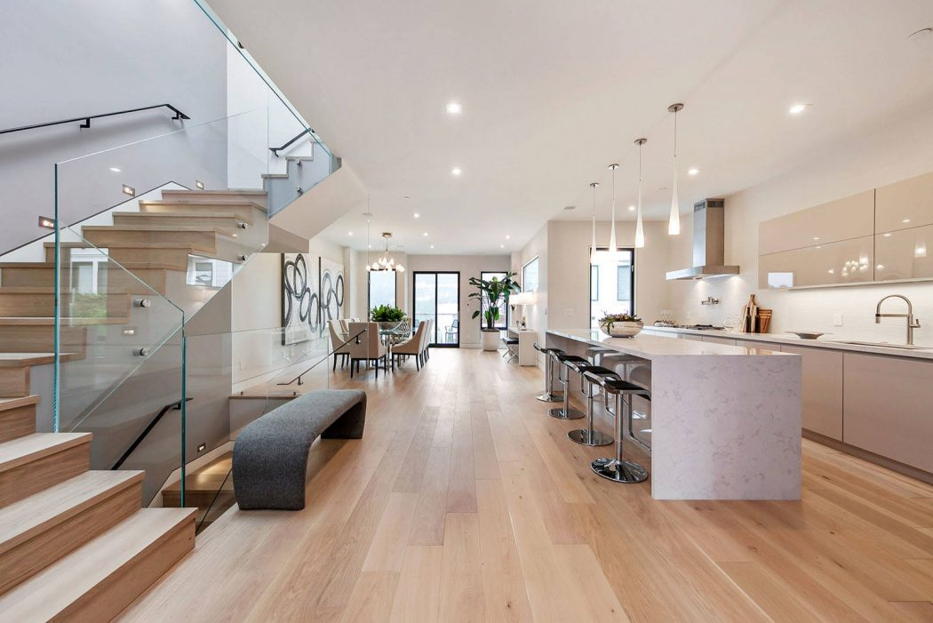 This Modern Single Family House Located In San Francisco, California, Was  Designed In 2017 By Vaso Peritos Interior Design.