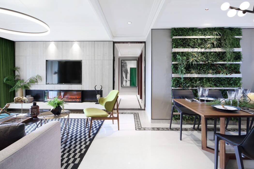 Apartment in Foshan by C&C Design Group