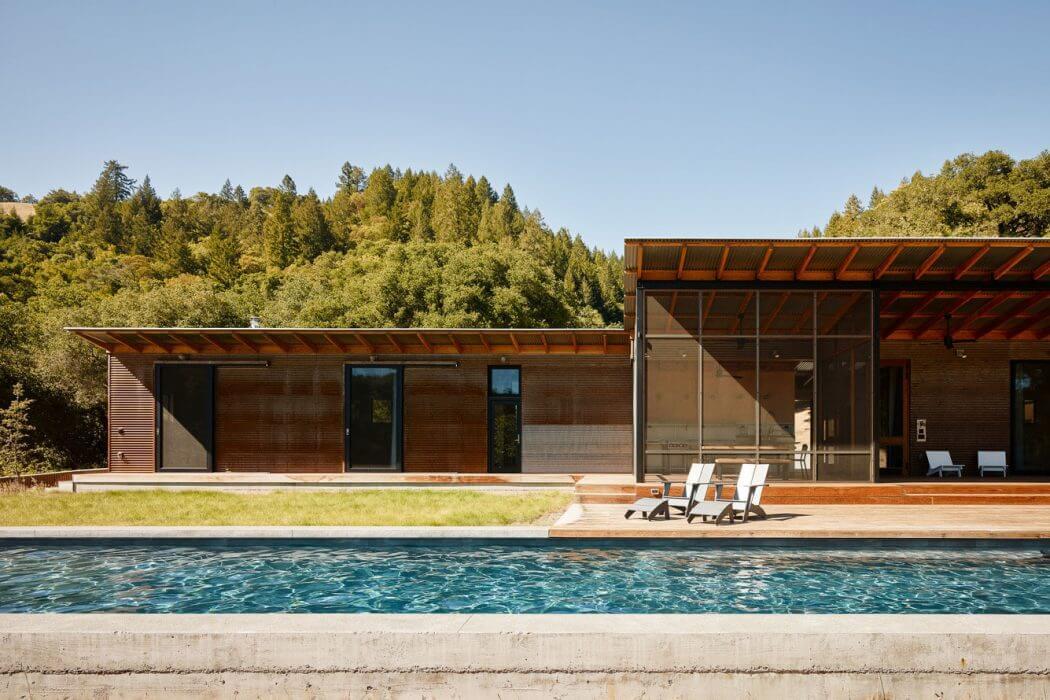 House in Healdsburg by Malcom Davis Architecture