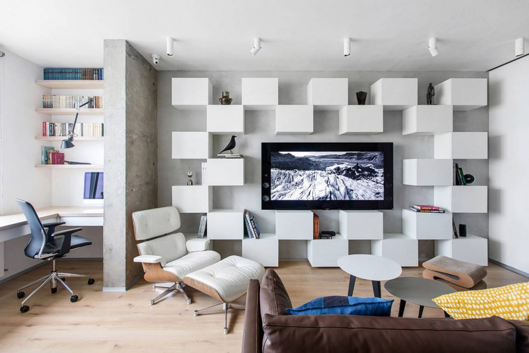 Apartment in Moscow by Megabudka